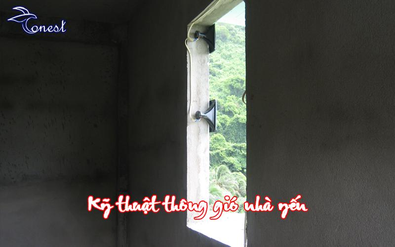 Kỹ thuật thông gió nhà yến
